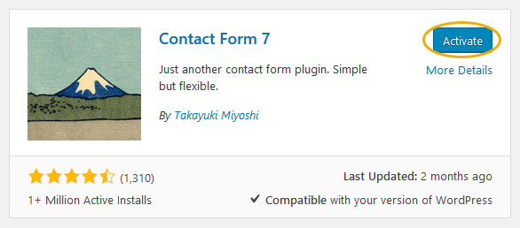 How to Add Simple Contact Form in WordPress Theme Step 2