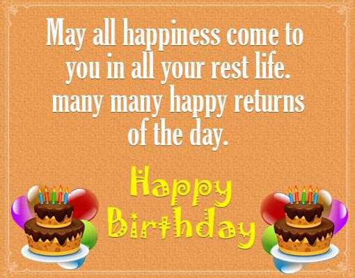 Birthday Wishes English Me
