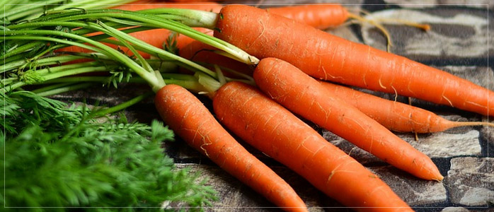 Carrots Healthy Diet to Prevent Hair Fall