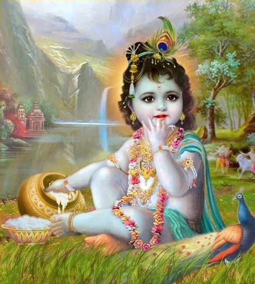 Baal Krishna HD Wallpaper