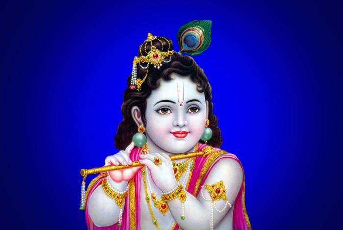 Small Krishna HD Wallpaper