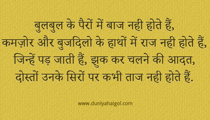 Brainy Quotes in Hindi