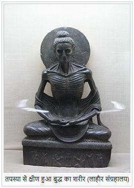 Gautama Buddhas Body after Austerity
