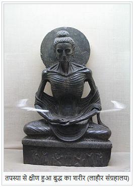 Gautama Buddhas Body after Austerity