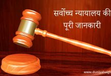 Supreme Court in Hindi