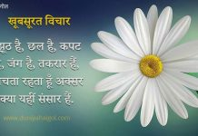 Beautiful Thoughts in Hindi