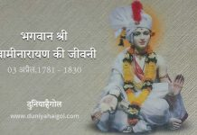 Lord Swaminarayan Biography in Hindi
