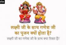 Laxmi Ganesh Relation in Hindi