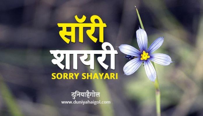 Sorry Shayari