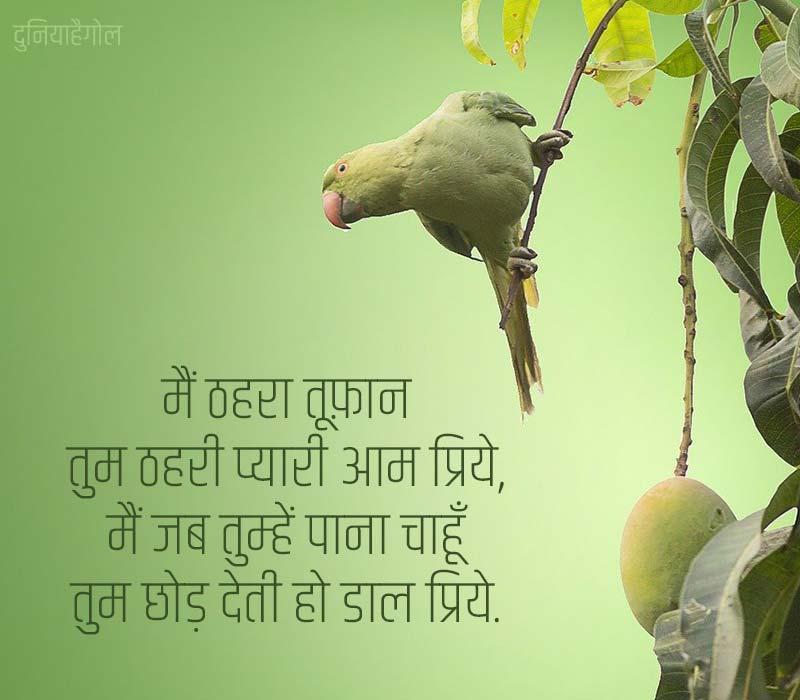 Mango Quotes in Hindi