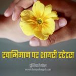 Self Respect Shayari Status Quotes Hindi