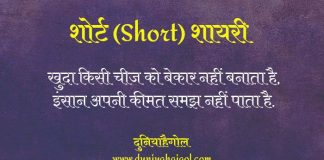 Short Shayari Status Quotes Hindi