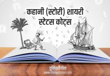 Story Shayari Status Quotes in Hindi