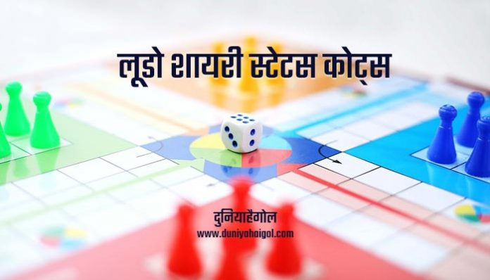 Ludo Shayari Status Quotes in Hindi