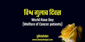 World Rose Day Shayari Status Quotes in Hindi