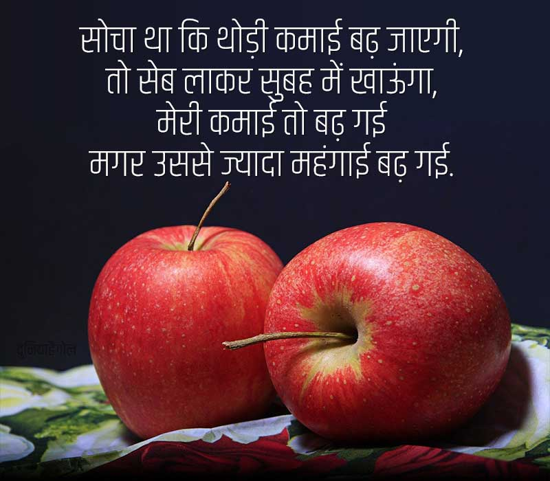 Apple Quotes in Hindi