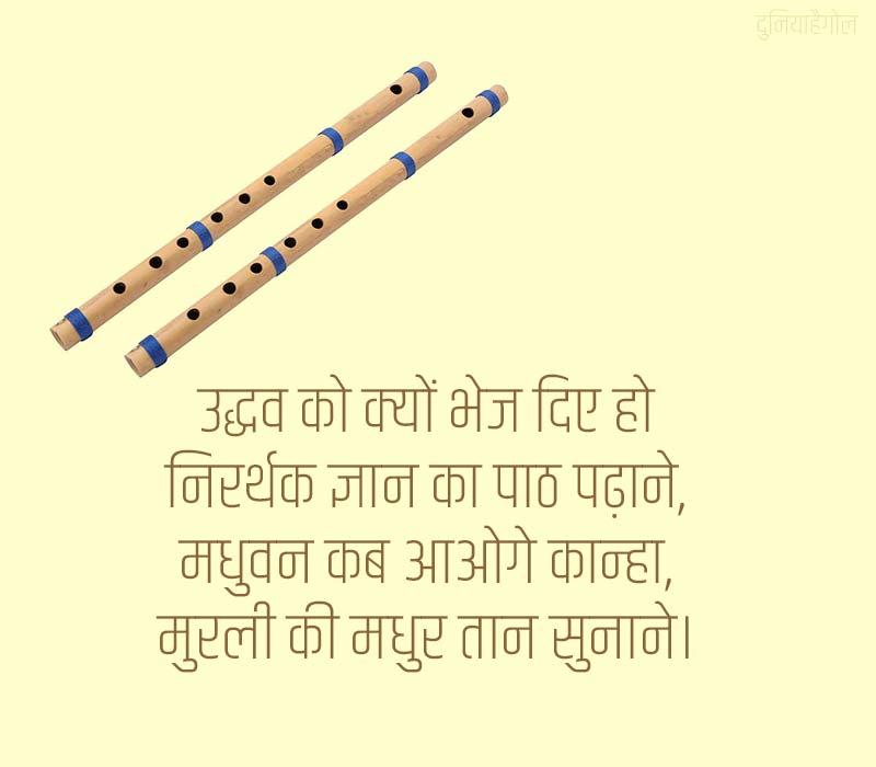 Bansuri Shayari in Hindi