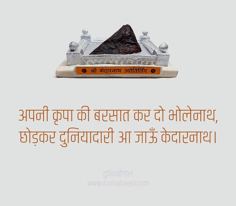 Kedarnath Status in Hindi
